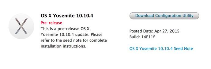 beta 2 os x 10.10.4