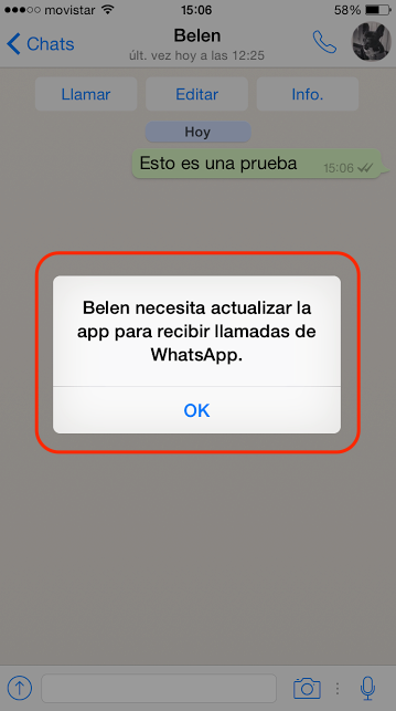llamadas telefono whatsapp iphone