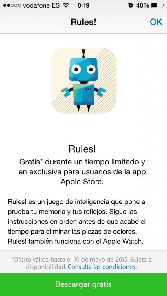 descargar Rules gratis - codigo itunes