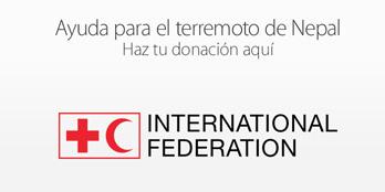 iTunes Apple Afectados Nepal donacion