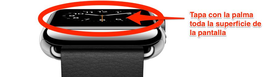 silenciar llamada apple watch