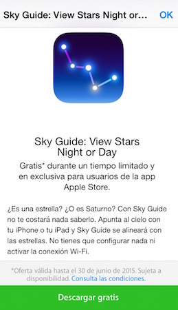 Sky Guide Gratis iTunes