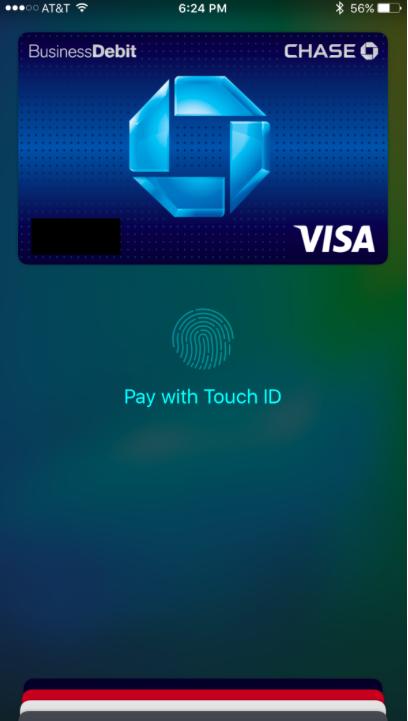 apple pay iOS 9