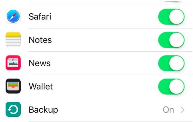aplicación news iCloud iOS 9