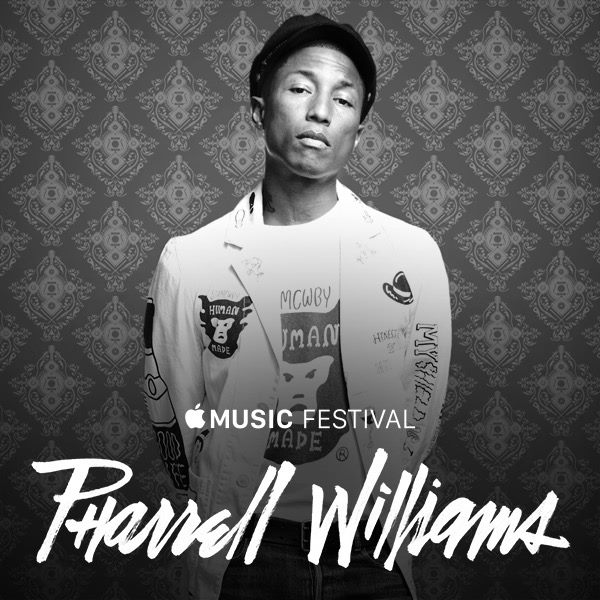 Apple Music Festival 2015 - Pharrell Williams