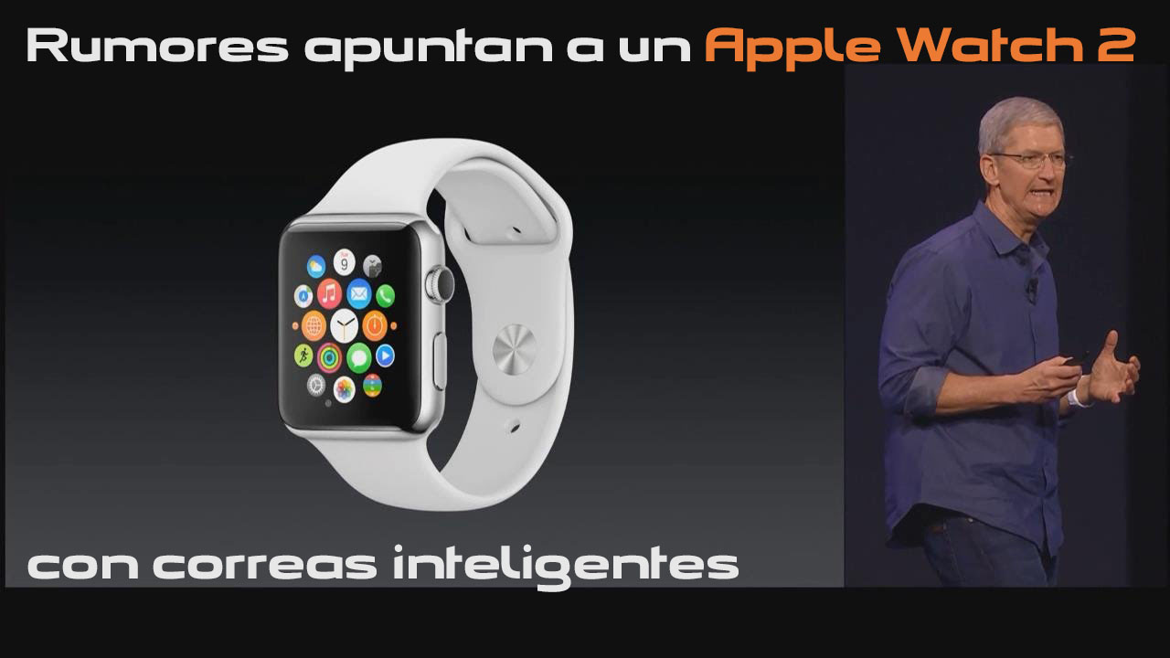 Apple Watch 2 correas inteligentes