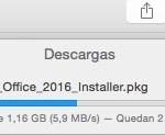 El instalador ocupa 1,16 gb pero descarga rápida