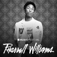 Pharrell Williams en Apple Music Festival 2015