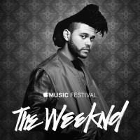 The Weeknd en Apple Music Festival 2015