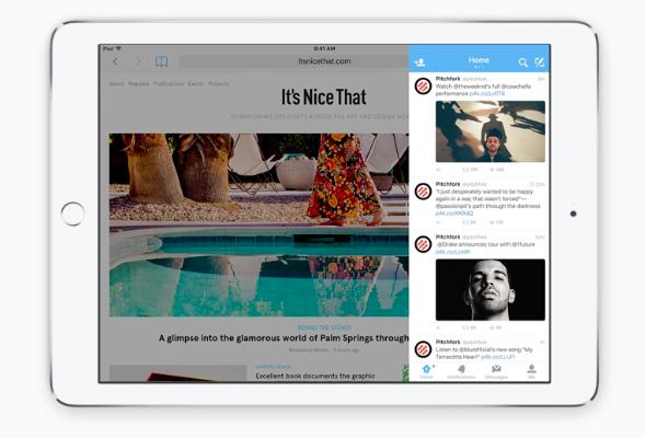 multitarea iOS 9