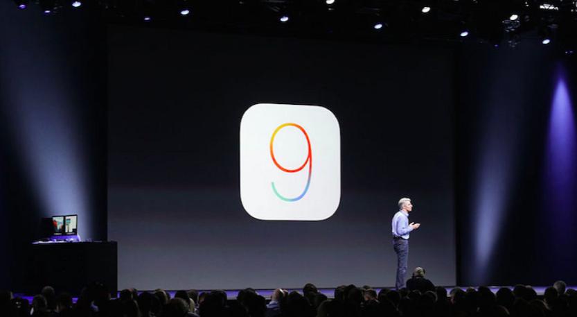 iOS 9 keynote
