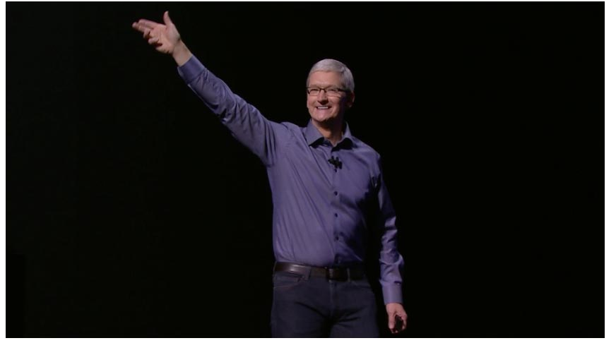 Tim Cook Keynote apple 2015