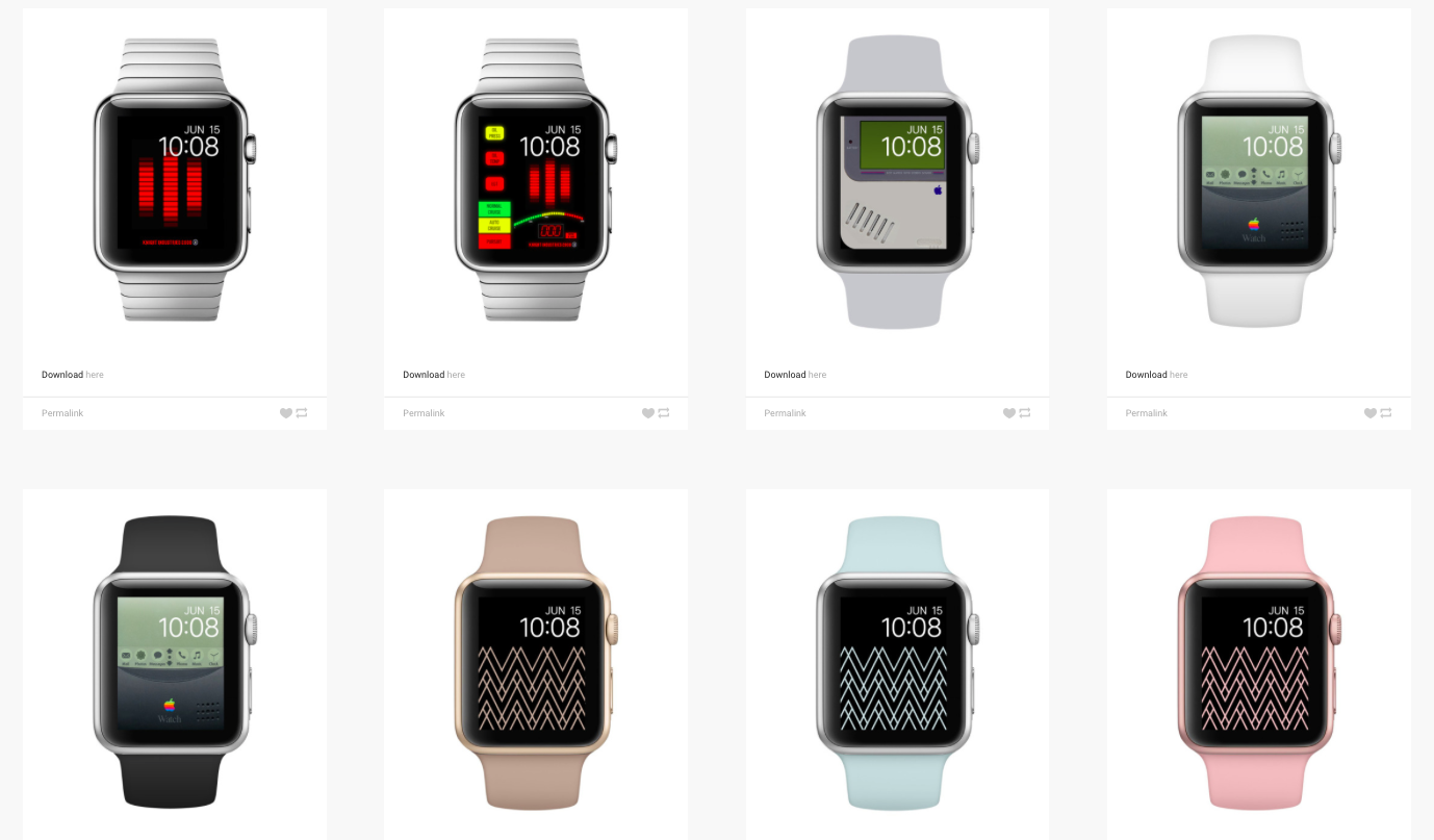 salvapantallas y fondos de pantalla apple watch
