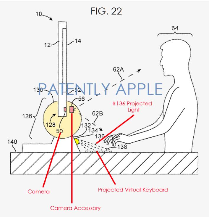 teclado virtual apple