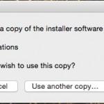 """El programa reconoce la descarga y le pincharemos en """"Use this copy"""""""
