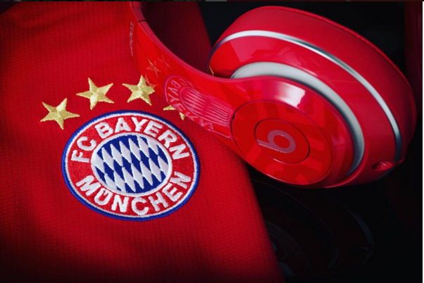 Beats patrocinador del Bayern Munich