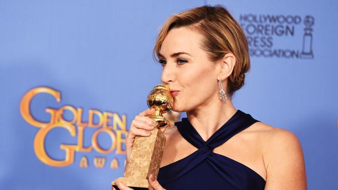 Photo by Buckner/Variety/REX/Shutterstock (5528315b) Kate Winslet 73rd Annual Golden Globe Awards, Press Room, Los Angeles, America - 10 Jan 2016