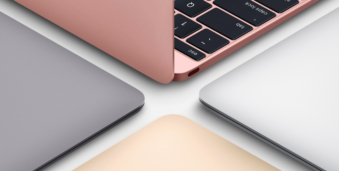 colores macbook 12""