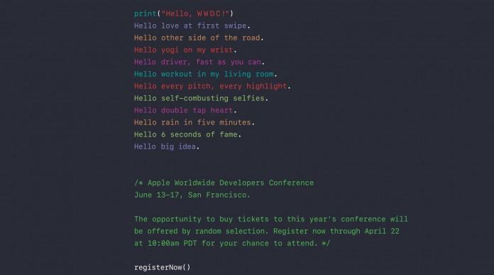 WWDC 2016 apple