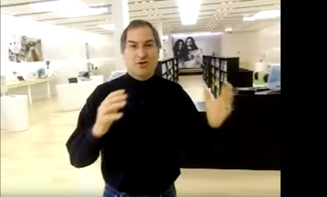 15 aniversario Apple store Steve jobs