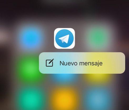 3D Touch Telegram