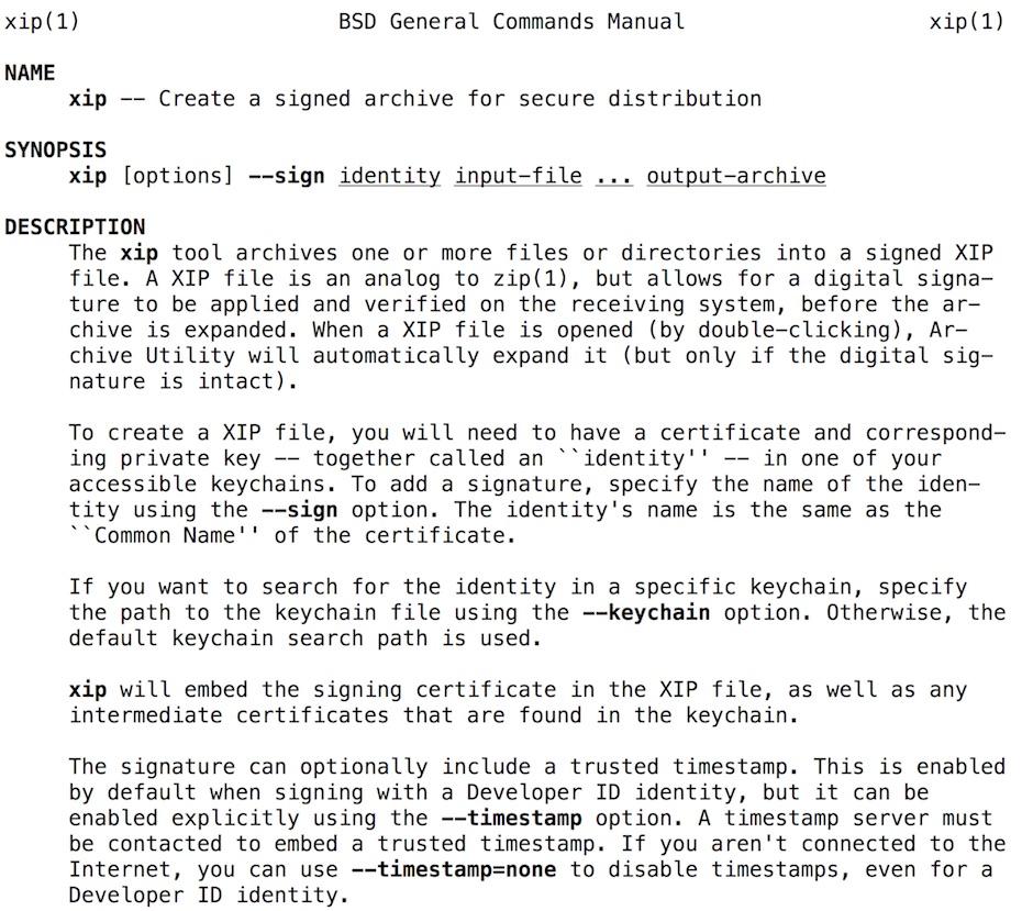 archivos XIP en Xcode 8