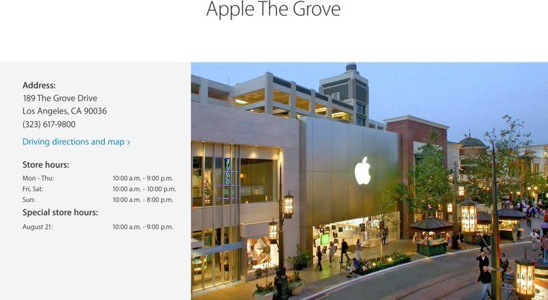 nuevo nombre de las Apple Store