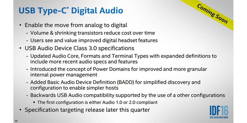 USB Tipo-C Digital Audio