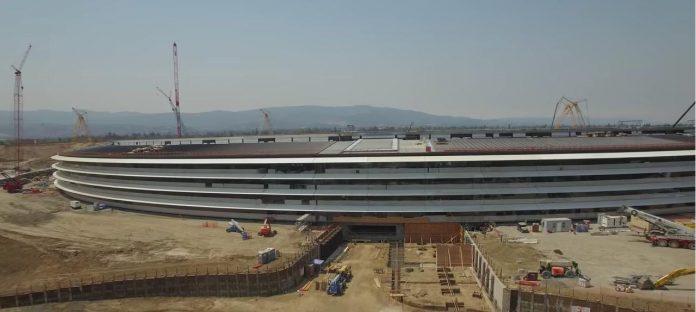 Evolución Apple Campus 2 - Septiembre 2016