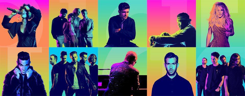 Artistas Apple Music Festival 2016