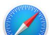 Logo Safari MacOS