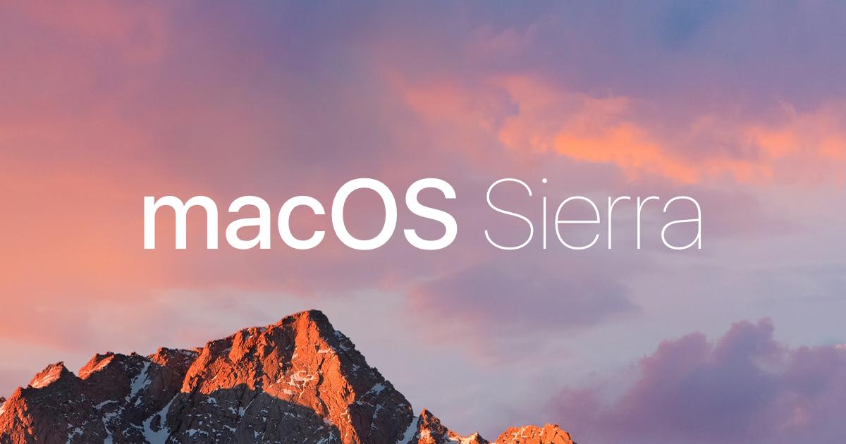 Cómo descargar macOS Sierra