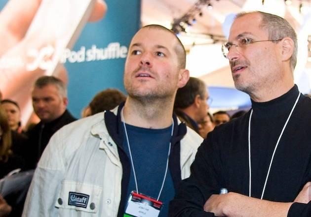 Jony Ive y Steve Jobs