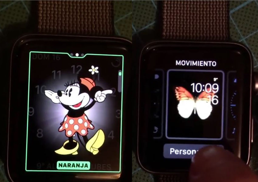 Cómo cambiar y personalizar la esfera del Apple Watch Series 2