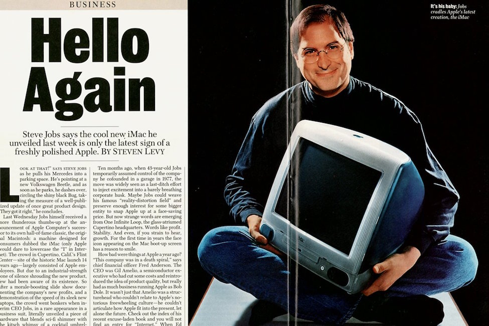 iMac Hello Again 1998 Steve Jobs