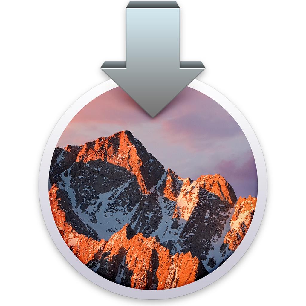 icono instalación macOS sierra