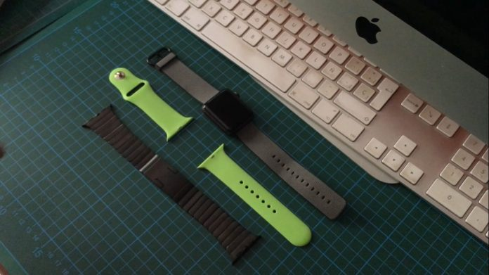 tutorial cambiar correa Apple Watch