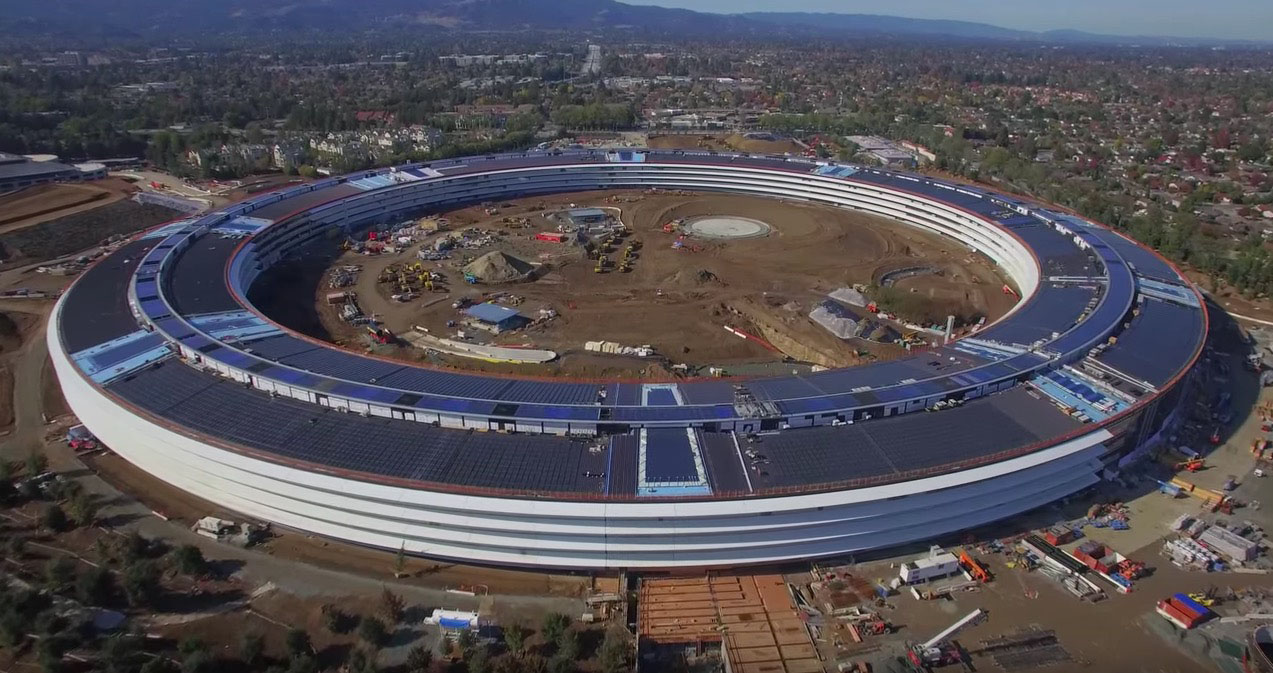 Apple Campus 2 Spaceship 2016