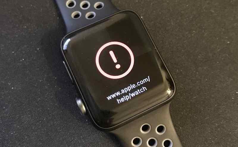 fallo apple watch watchos3.1.1