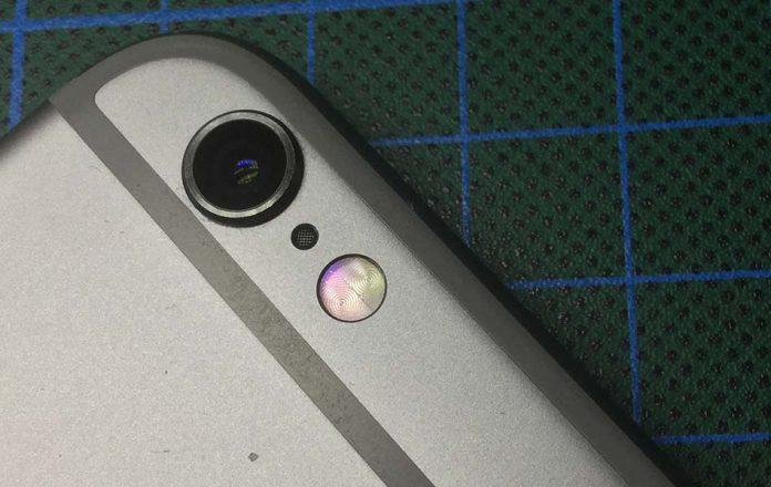micrófono oculto trasera iPhone 6s