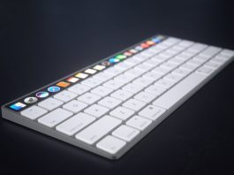 Rumor de Apple Magic Keyboard con Touch Bar