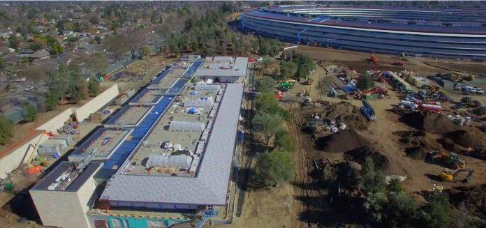 Evolución del Apple Campus 2 - Febrero 2017