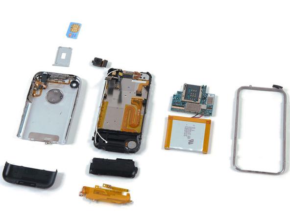 iPhone 1ª Generación por iFixit