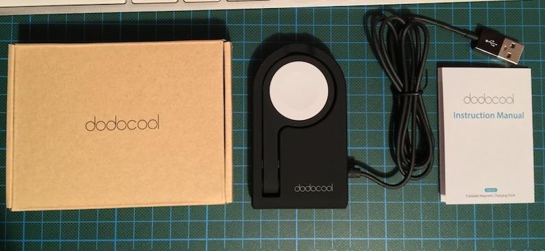review dodocool Cargador Magnético apple watch