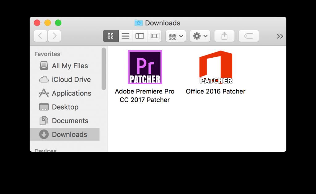Ransomare OSX/Filecoder.E escondido en un falso parche