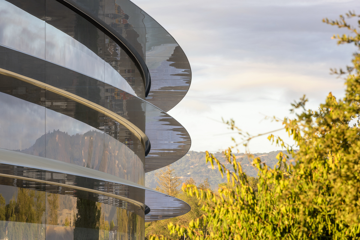 Apple Park - Lunas curvadas