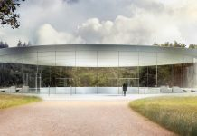 Apple Park - Steve Jobs Theater