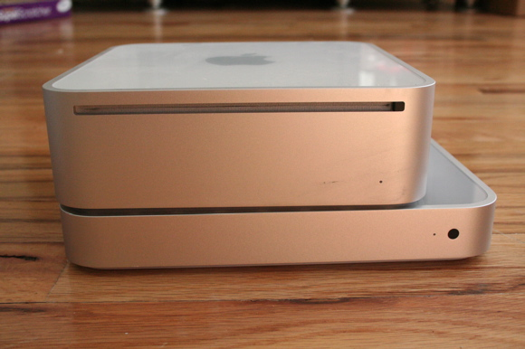 Apple TV y mac mini 1st Gen