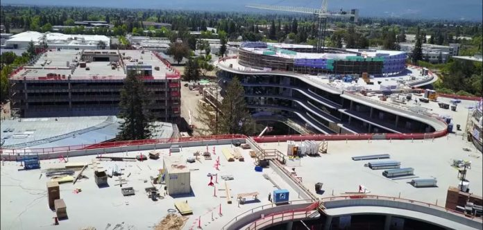 Apple Campus 3 - Evolución construcción mayo 2017