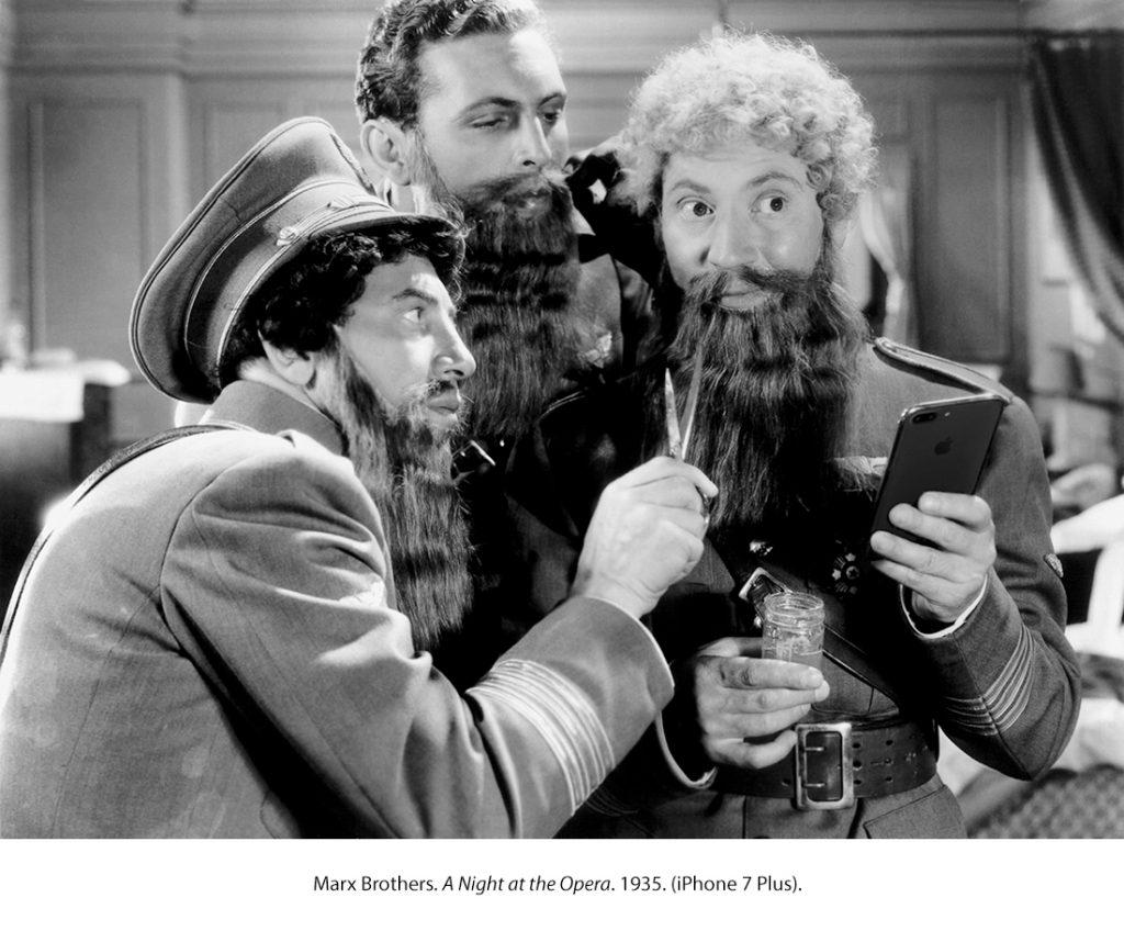 Los Hermanos Marx. Una noche en la Ópera. 1935. (iPhone 7 Plus)